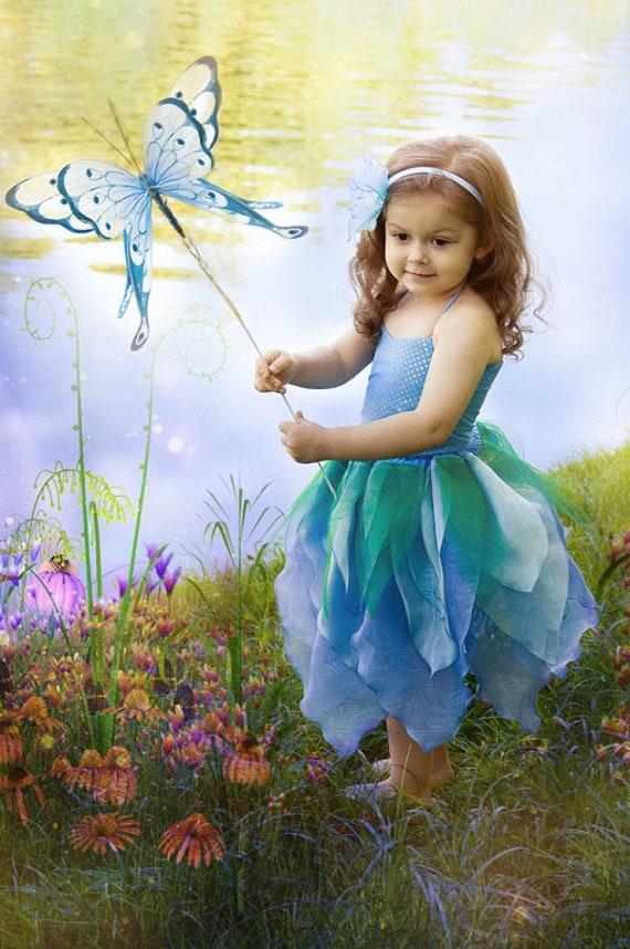 Fairy, Thumbelina costume, Gr. 98