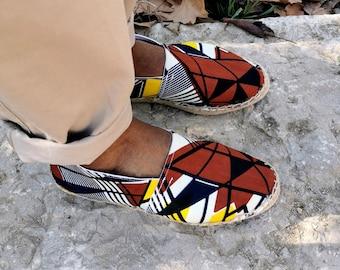 Zayi espadrilles in original wax hand-stitched mixed