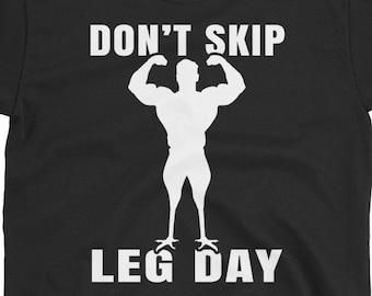 Leg day quote | Etsy