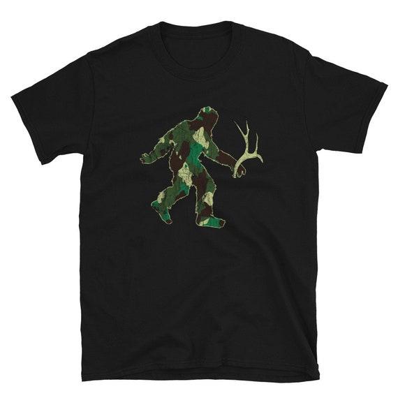 Camo Bigfoot Short Sleeve Shirt