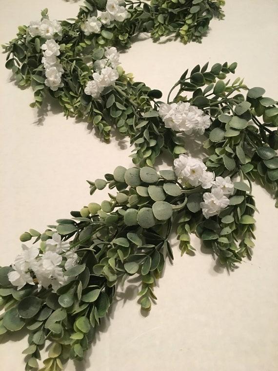 6 Feet Eucalyptus Wedding Garland Wedding Decor Centerpiece Etsy
