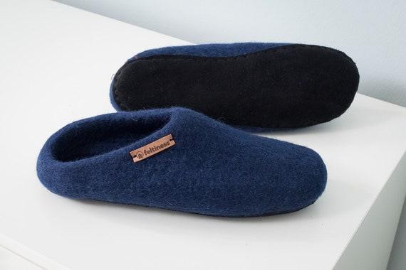 Kinder Jungen Hausschuhe Leder Happy Foot Pantoffel Latschen