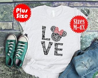 eca9ff83 Disney Women's Tee | Mickey T-shirt | Women's Top | Plus Size | Medium- 4xL