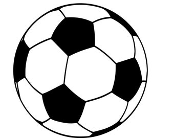 soccer svg ball silhouette cricut clipart sports etsy stars items