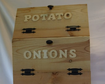 Potato Onion Bin Etsy