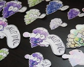Glossy Grape Stickers...