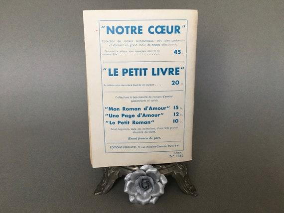 Romance Novella L Inconnu Du Reveillon By Huguette Gilles Le Livre Favori Editions Ferenczi Vintage Romantic Sentimental Literature