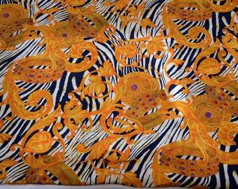 150x145 Deco Kleiderstoff Kunstfaser Barockstil 80