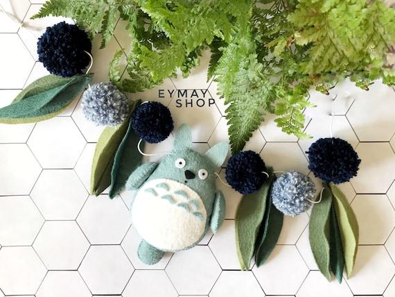 Totoro garland
