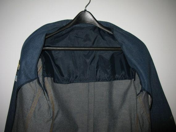 1970s Vintage Lee Denim Sport Coat, Size 44L - image 3