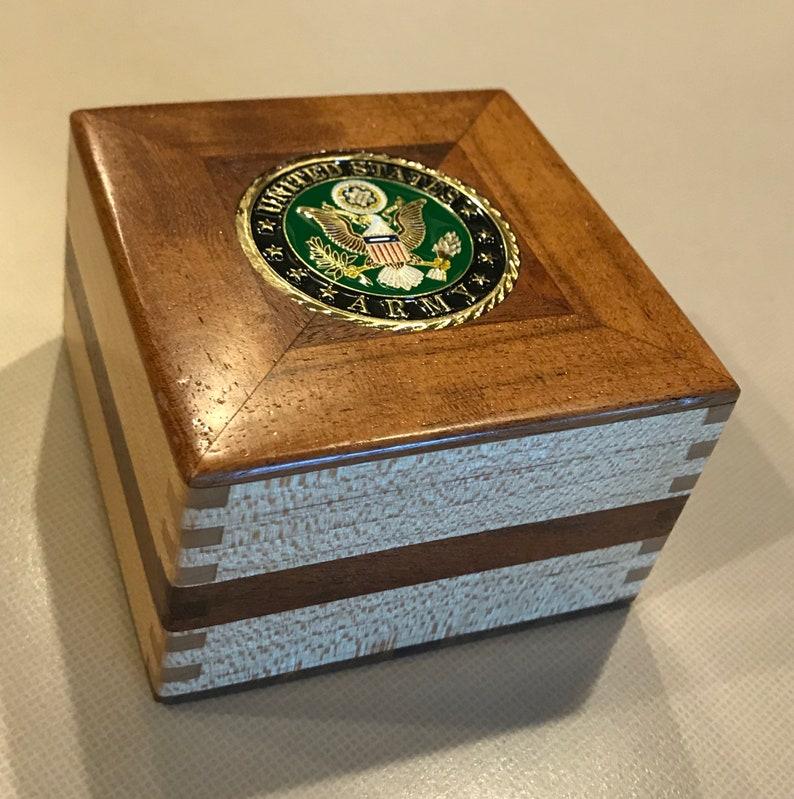 US Army Keepsake Treasure Box