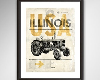 Ford Tractor Poster 1932-1986 Manuals
