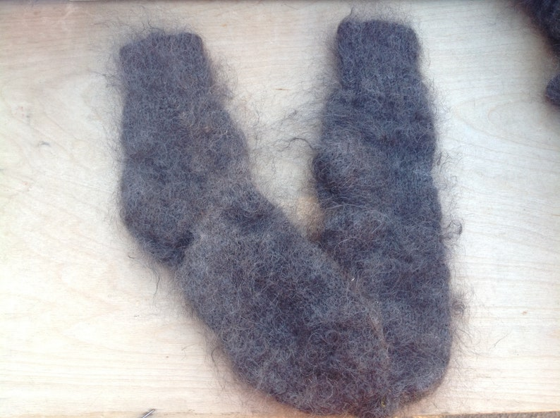 Goat fluff socks men/'s and women/'s Natural goat fluff Gift for Christmas Woolen down socks