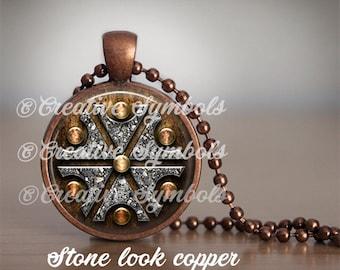 Thundermarks of Perun God of Thunder Choice pendant with chain