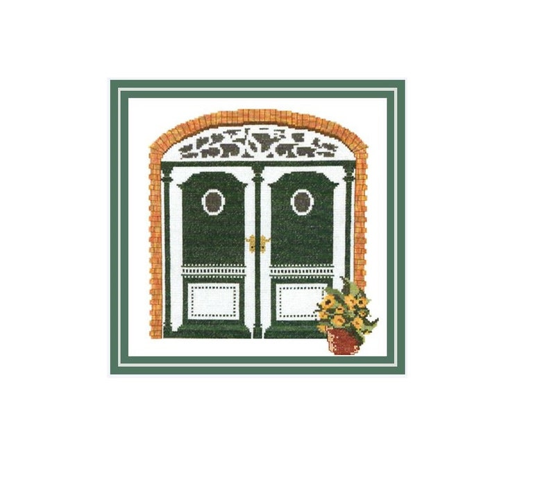 Cross Stitch Template Embroidery Proposal Captaincy door 10 of image 0