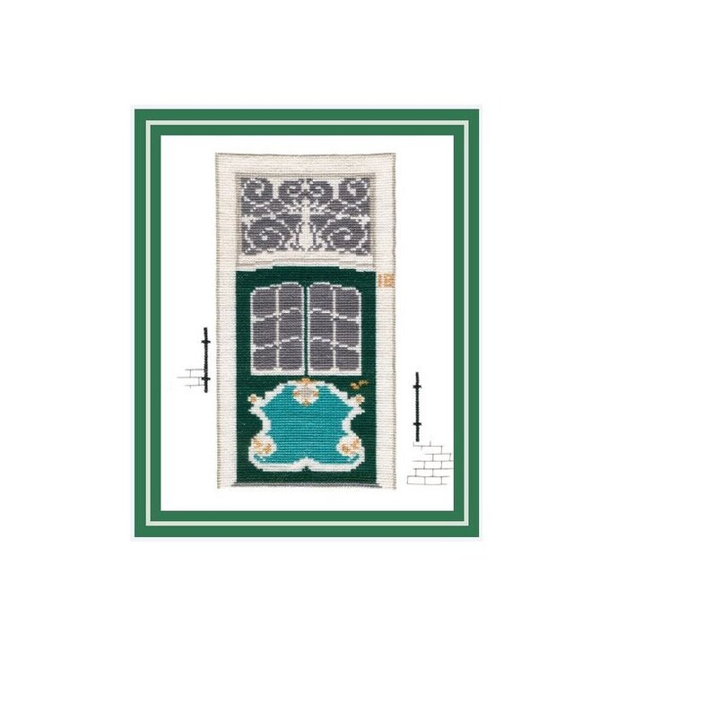 Cross Stitch Template Embroidery Proposal Captaincy door 12 of image 0