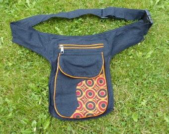 Hawanja kl Belt bag brown patterned Kids