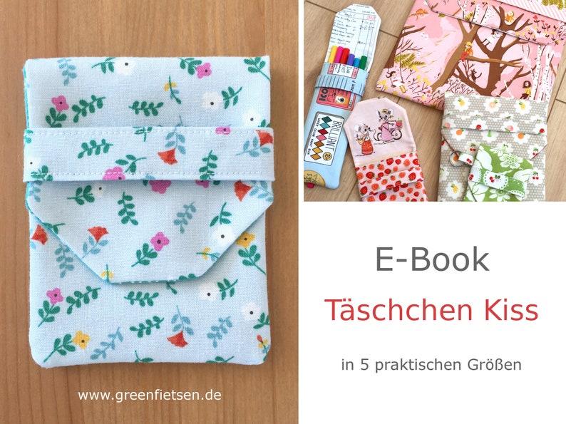 PDF Nähanleitung  Täschchen Kiss image 0
