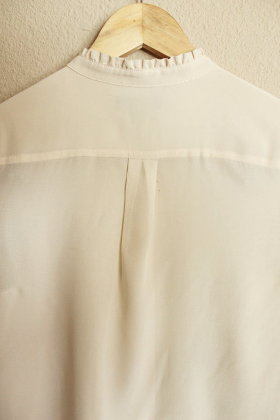 Silk Blouse for Women, 100 Silk Shirt, Vintage Si… - image 7