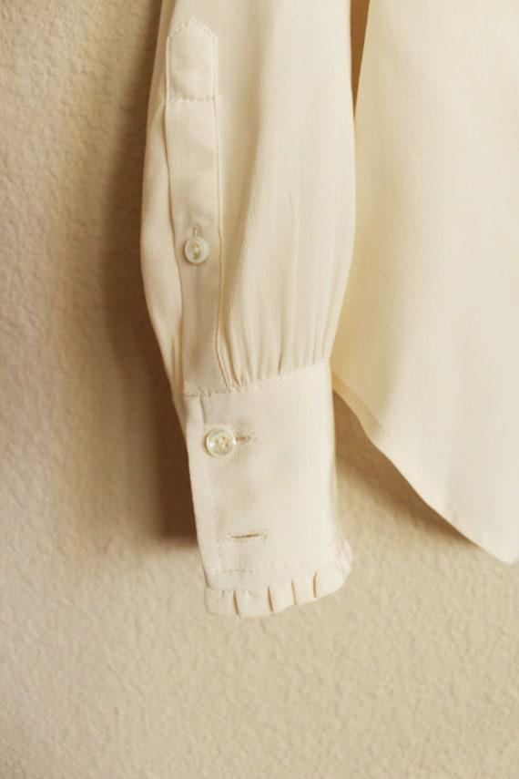 Silk Blouse for Women, 100 Silk Shirt, Vintage Si… - image 8