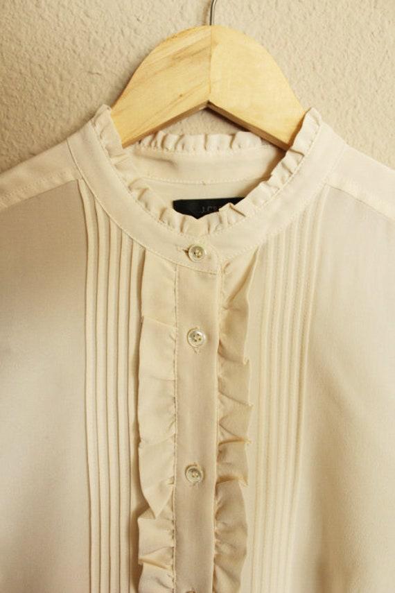 Silk Blouse for Women, 100 Silk Shirt, Vintage Si… - image 6