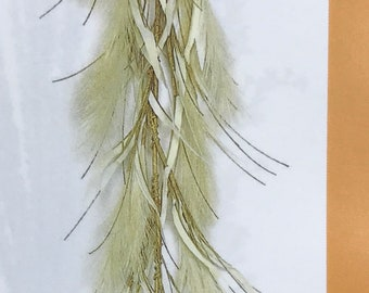 Decor Photography Bridal Pampas Grass FAUX Garland- Bulk 3 Pieces 6/' Boho