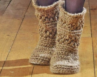 054543d21ee Knitted shoes | Etsy