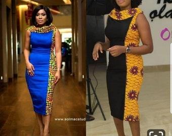 271343fe1279 African print dress