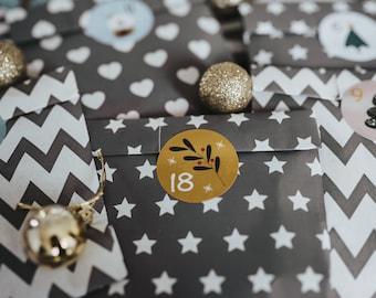 Advent Calendar Jewelry grey large