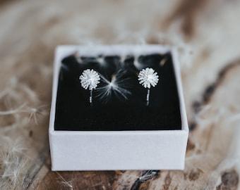 Studs 925 silver pusflower