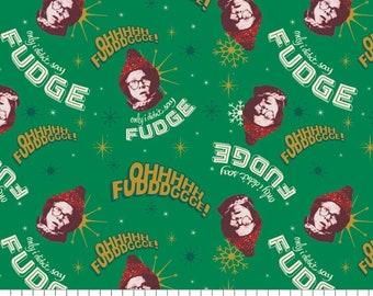 A Christmas Story Oh Fudge Christmas Cotton Fabric
