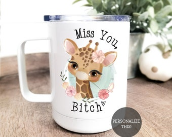 I F*cking Miss You Bitch Long Distance Friendship Gifts State Mugs Moving Away