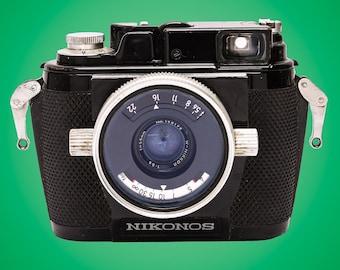 Nikonos I Underwater 35mm Film Camera: Dive up to 50 meters!