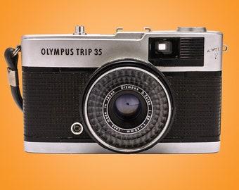 Olympus Trip 35 Vintage Film Camera + 40mm F2.8 Lens