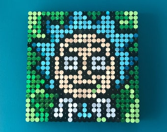 Do it yourself sequin pixel art by mypixperfect on etsy rick morty sequin pixel art kit do it yourself wall art solutioingenieria Gallery