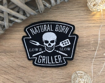 SMOKED BBQ Morale Patch V2 SALMON