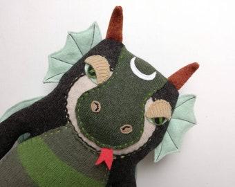 Big Dragon Plush Etsy