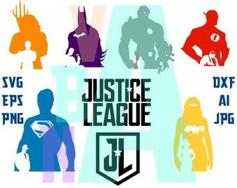 justice league clipart etsy rh etsy com superhero justice league clipart justice league clipart