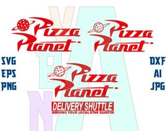 Pizza Planet Svg Etsy