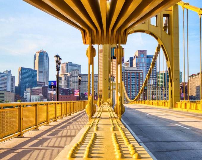 Warhol Bridge in Downtown Pittsburgh