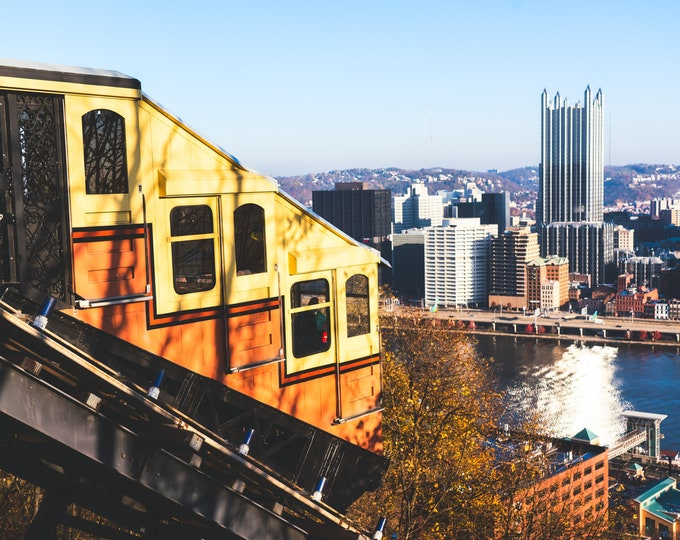 Pittsburgh Photo - Monongahela Incline