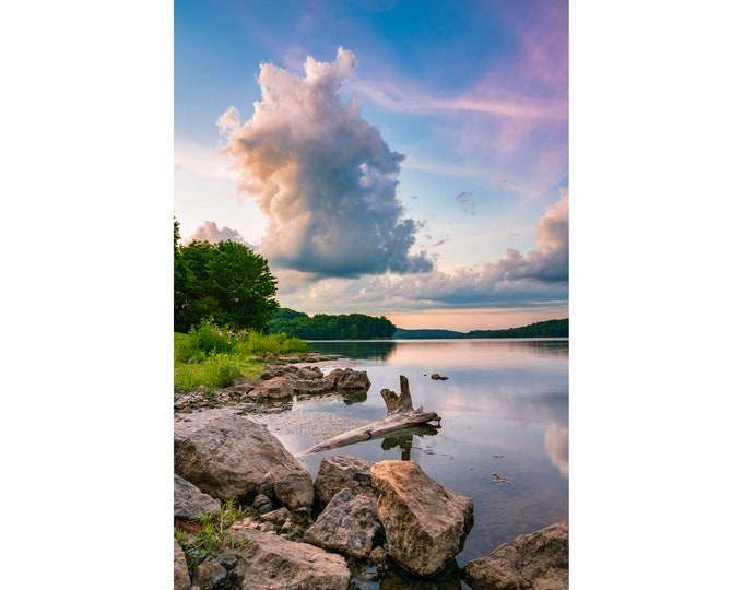 Moraine State Park Photo - Lake Arthur Photo - Moraine State Park Sunrise Photo