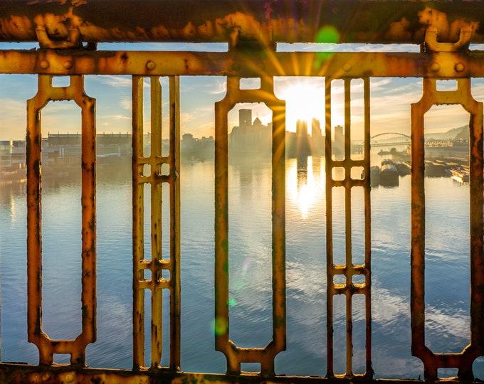 Pittsburgh Photo - West End Bridge Sunrise - Pittsburgh Art - Pittsburgh Photo Prints