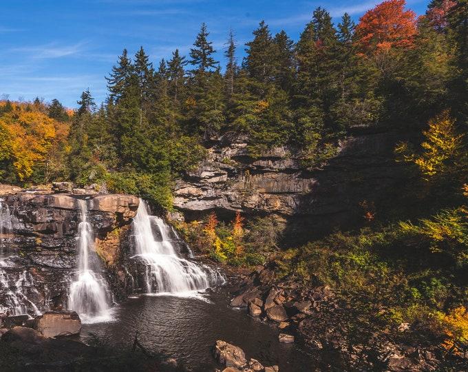 Blackwater Falls West Virginia Fall Foliage Photo