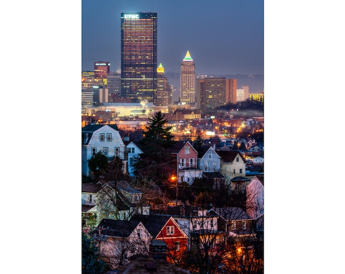 Pittsburgh Photo - A View from Greenfield - Pittsburgh Wall Art - Pittsburgh Picture