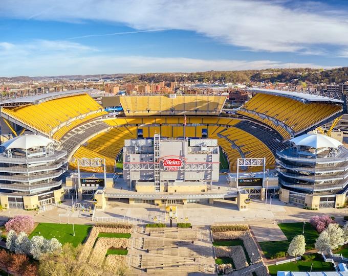 Photo of Heinz Field, Picture of Heinz Field, Steelers Heinz Field Photo, Pittsburgh Photograph, Pittsburgh Steelers