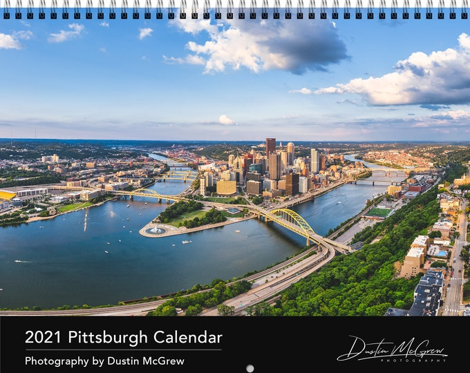2021 Pittsburgh Calendar PRE-ORDER