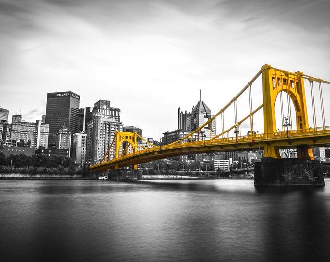 Pittsburgh with Andy Warhol Bridge
