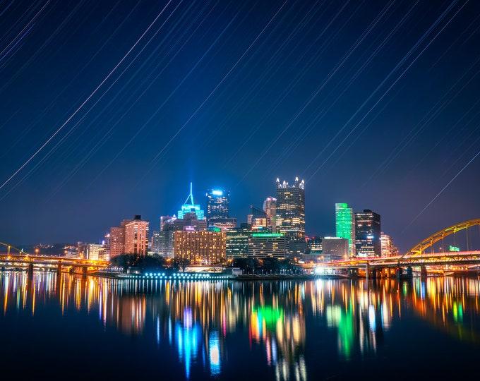Pittsburgh Photo Print - Pittsburgh Cosmic Edition - Pittsburgh Metal Prints - Pittsburgh Art
