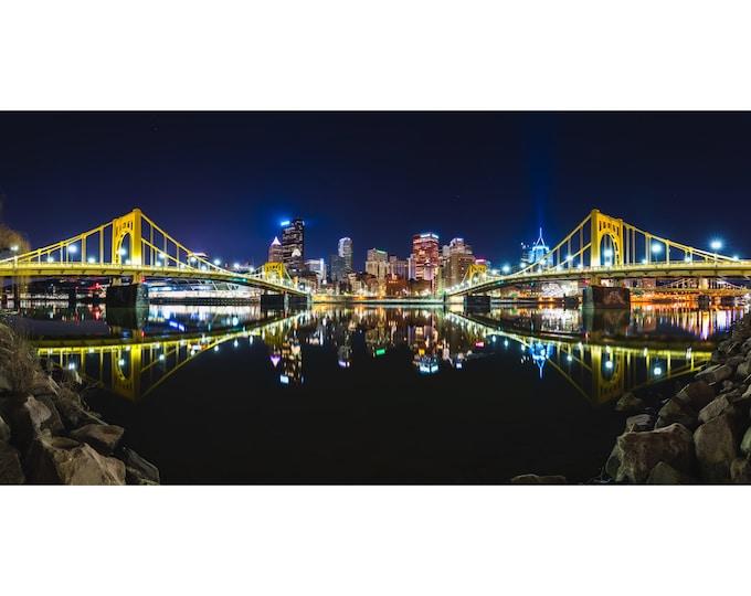 Panoramic Photo of Pittsburgh - Pittsburgh Photo Prints - Pittsburgh Wall Art